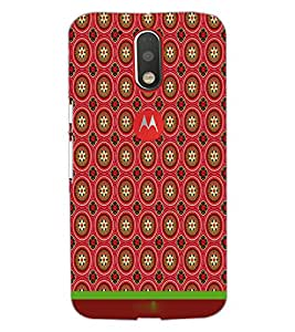 Printdhaba Pattern D-1897 Back Case Cover For Motorola Moto G4 Plus