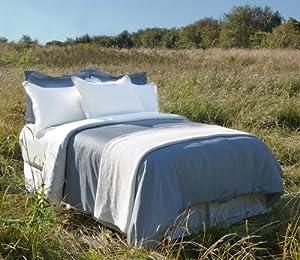 Organic Cotton Pillowcases - King (White)