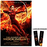 "The Hunger Games: Mockingjay Part 2 (2015) - Katniss & Bird On Fire - Movie Poster Reprint 13"" x 19"" Borderless + Laminated bookmark"