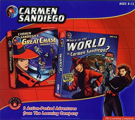 Carmen Sandiego Mini 2 Pack