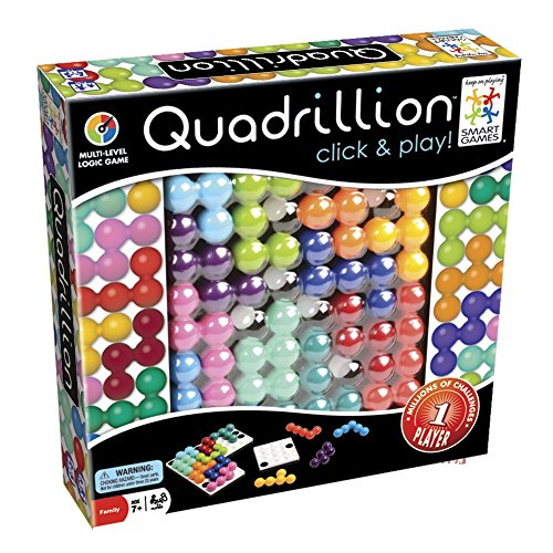 Smart Games - Quadrillion, juego de ingenio, retos y soluciones (SG540Es)