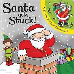 Santa Gets Stuck!