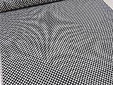 市松模様 ブラック黒 スケアー生地      |生地|布地|和柄|和風|日本|