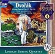 """Dvorak: String Quartet No.12 """"The American"""" and No.13"""