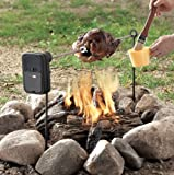 Grill Rotisserie - Battery Powered, Self Spinning Rotisserie for Grills and Campfires