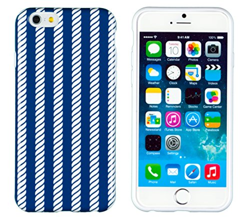"""Iphone 6 Case, Dandycase Perfect Pattern *No Chip/No Peel* Flexible Slim Case Cover For Apple Iphone 6 (4.7"""" Screen) - Lifetime Warranty [Nautical Rope] front-509905"""