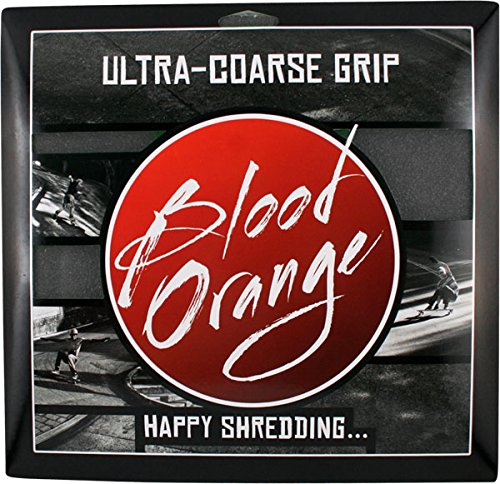 Blood Orange X-Coarse Grip 4 Squares [Black] 10x11 blood water