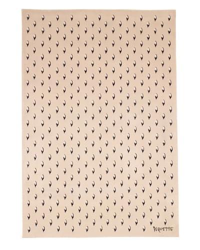 Tony Duquette Royal Ermine Rug, Cream, 6' x 9'