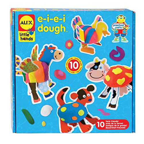ALEX Toys Little Hands E-I-E-I Dough - 1
