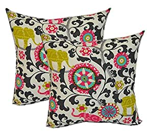 Large Decorative Outdoor Pillows : Amazon.com: Set of 2 - Indoor / Outdoor Jumbo / Large 24