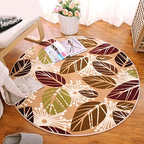 Rund-Coral-Velvet-Teppich-Computer-Stuhl-Drehhocker-Decke-hngend-Korb-Stuhl-Schlafzimmer-Bett-Anti-Rutsch-Teppich-Waschen-gre-120CM