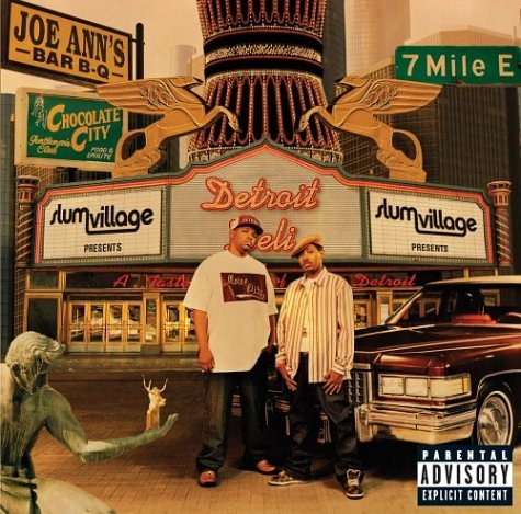 Original album cover of Detroit Deli: A Taste of Detroit by Slum Village
