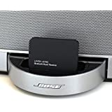 LAYEN i-SYNC - Bluetooth Audio Adaptor / Receiver. Stream Music Wirelessly From Your Bluetooth Device; iPod, iPhone, iPad, Smartphone, Tablet, MP3 Player, PC or Laptop to your Docking Station or Stereo System