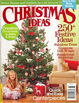 better homes and gardens special interest publications christmas idea 2008 issue editors of