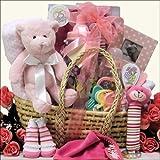 Great Arrivals Baby Gift Basket, Baby Essentials Girl