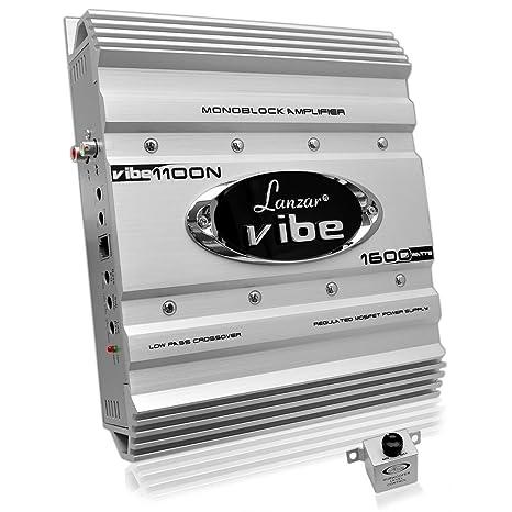 Lanzar Mosfet Amplificateur 1600 W Argent