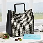 New Yorker Insulated Lunch Bag with Ice Pack
