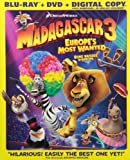 Madagascar 3: Europe's Most Wanted (Bilingual) [Blu-ray + DVD + Digital Copy]