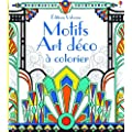 Motifs art d�co � colorier