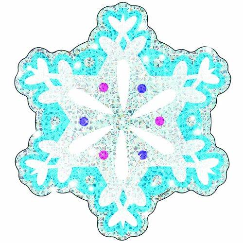 Trend Enterprises Shimmering Snowflakes (Sparkle) Classic Accents (T-10008) - 1