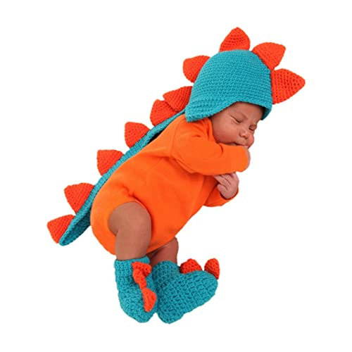 Princess Paradise Baby Dragon Infant Halloween Costume Newborn Booties + Hat