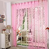 Sweet Love Pink Heart String Door Curtain