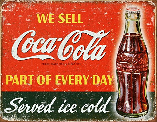 Coca-Cola Part of Every Day Tin Sign 13 x 16in 0
