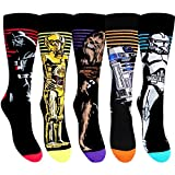 3x Pairs of Men's or Boys Official Disney Star Wars EP7 Character Socks / UK 6-11, Eur 39-45