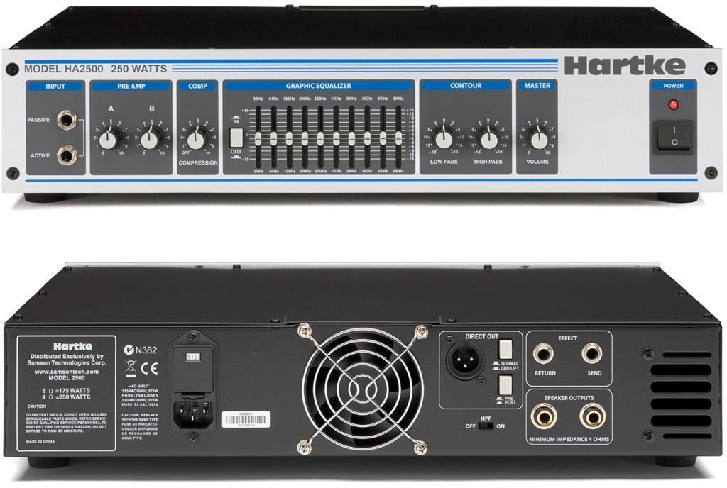 Bass Amplifier India Hartke Ha2500 Bass Amplifier