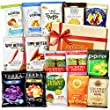 Kosher Snacks Healthy Gift Box Premium Care Package ( Gluten Free Snack Natural Organic Non GMO Vegan) School Lunch Bundle 15 ct