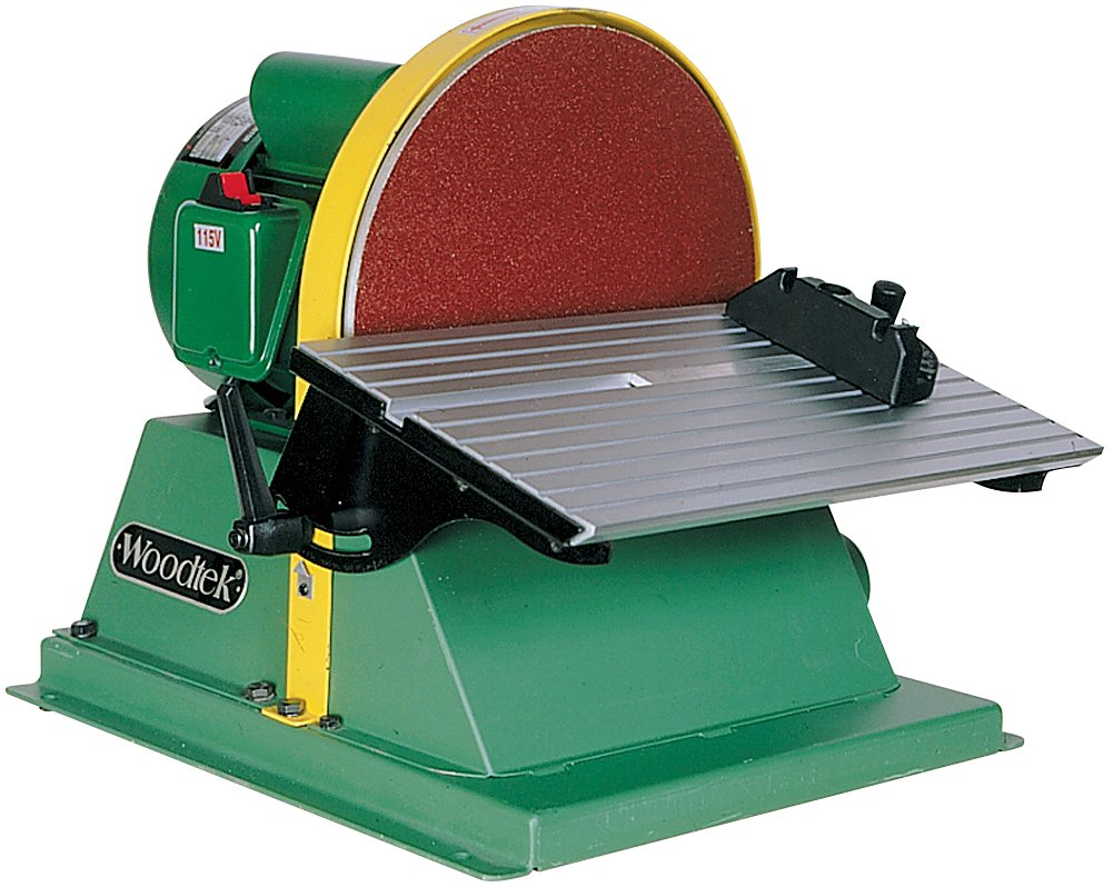Woodtek 958357 Machinery Sanders 12 Bench Top Disc Sander 34hp Huge Discount Tiendqaaa7