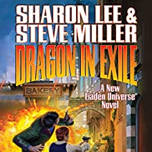 Dragon in Exile: Book 18 in the Liaden Universe: Arc of the Covenant Series (       UNABRIDGED) by Sharon Lee, Steve Miller Narrated by Kevin T. Collins