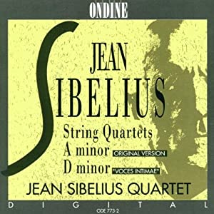 Sibelius:  String Quartet in a
