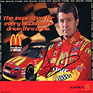 Bill Elliott Autographed Signed Racing 8x10 Card by Hollywood Collectibles