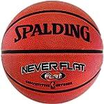 SPALDING NBA NeverFlat Outdoor Basket...