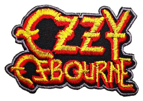 Ozzy Ozzie Osbourne Black Sabbath t Shirt Logo MO03 Patches by MartOnNet Music Patch