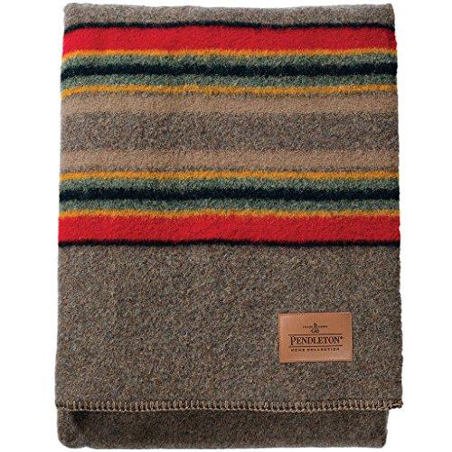 Pendleton Twin Camp Blanket - Mineral Umber front-336779