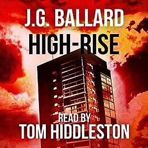 High-Rise Audiobook by J.G. Ballard Narrated by Tom Hiddleston