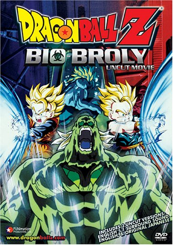DragonBall Z Bio-Broly: Uncut Movie (REGION 1) (NTSC) [DVD] [2005] [US Import]