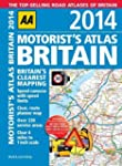 AA Motorist's Atlas Britain 2014 (Roa...