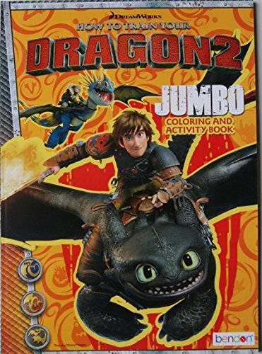 How to Train Your Dragon 2 Jumbo Coloring and Activity Book