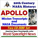 img - for 20th Century NASA History: APOLLO - Mission Transcripts and NASA Documents (Two CD-ROM Set) book / textbook / text book