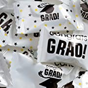 Graduation Wrapped Buttermint Creams 50 Count
