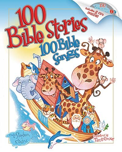 100 Bible Stories, 100 Bible Songs by Stephen Elkins