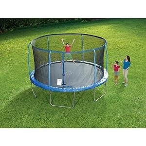 Sportspower Trampoline with Steel Flex Enclosure - 14 foot