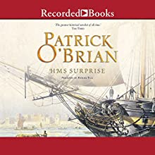 H.M.S. Surprise: Aubrey/Maturin Series, Book 3 Audiobook by Patrick O'Brian Narrated by Patrick Tull