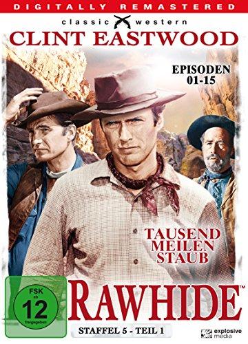 Rawhide - Tausend Meilen Staub, Staffel 5, Teil 1 [4 DVDs]