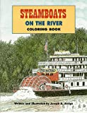 img - for Steamboats On The River Coloring Book book / textbook / text book