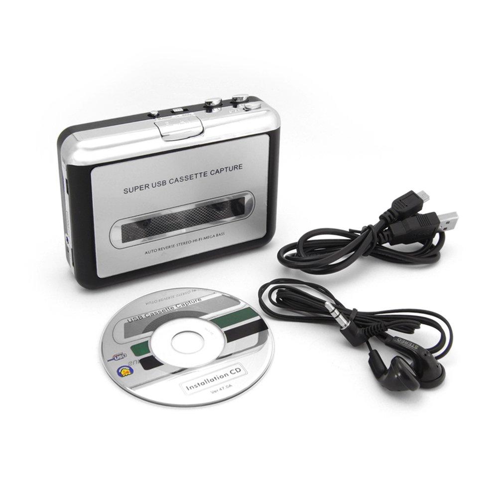 tragbarer usb kassettenspieler kassette zu mp3 konvertierer mit pc ebay. Black Bedroom Furniture Sets. Home Design Ideas