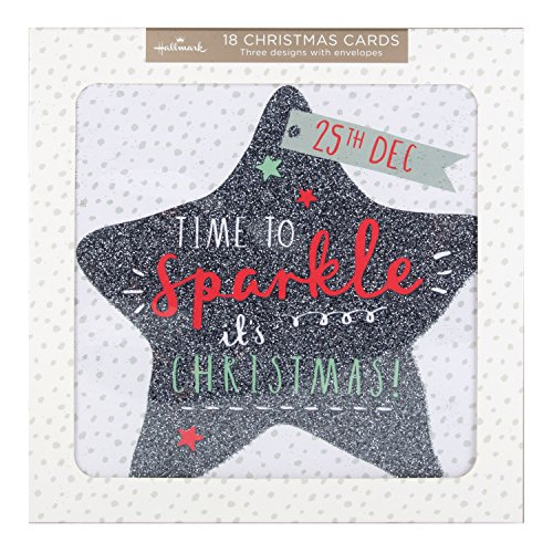 hallmark-bumper-christmas-card-pack-time-to-sparkle-18-cards-3-designs